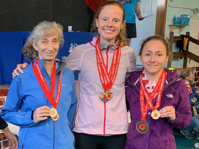Ladies team with their gold medals